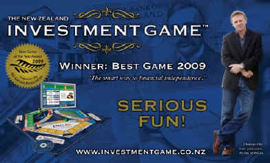The NZ INVESTMENT GAME has been named the Best New Game of 2009.